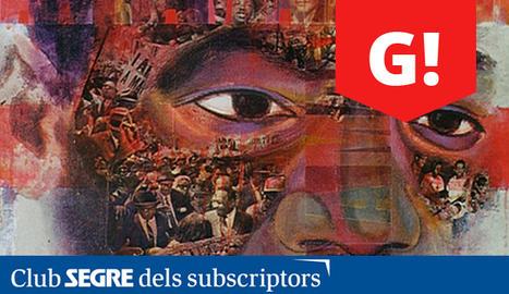Cartell de l'exposició 'Liberxina' al Museu Nacional d'Art de Catalunya.