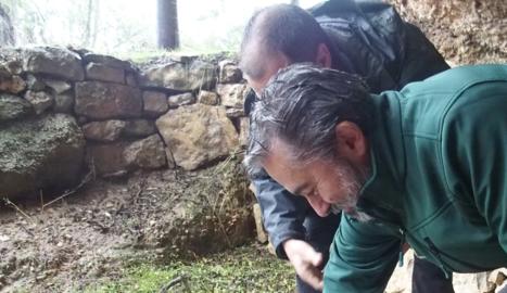 L'alliberament de tortugues ahir a Bovera.