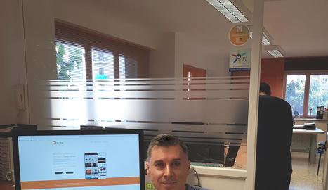 leandre. El responsable de l'empresa Globalia Grup, creadora de l'aplicació Ogeo Manager.