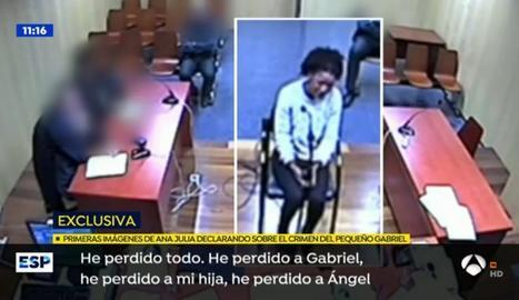 VIDEO. Así confesó Ana Julia el crimen del pequeño Gabriel