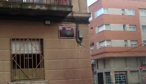 Esborren noms 'franquistes' de carrers de Lleida
