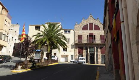 Imatge d'arxiu de la façana de l'ajuntament d'Arbeca.