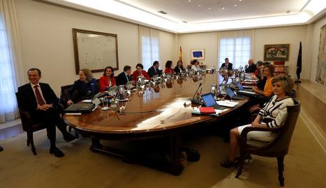 La reunió del Consell de Ministres