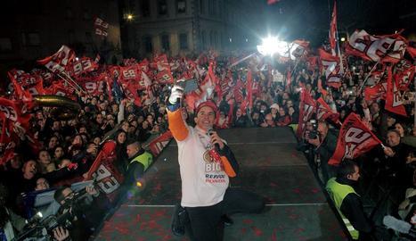 DIRECTE | La celebració del títol Marc Màrquez a Cervera