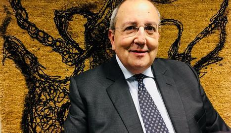 L'advocat i col·leccionista d'art lleidatà Antoni Gelonch.