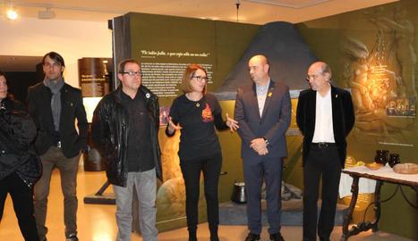 Inauguració de l'exposició dijous al Museu de la Noguera.