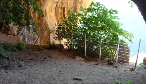 S'han restaurat les pintures rupestres i es regula l'accés.