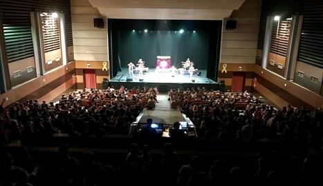 Imatge del musical 'El Pot Petit', que van veure 1.200 espectadors.