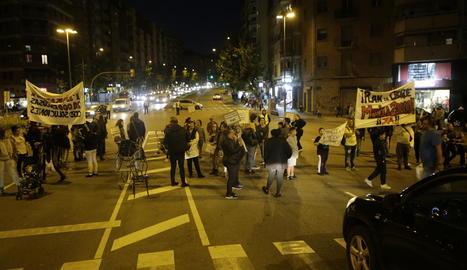 Manifestació l'octubre dels veïns de la Mariola.