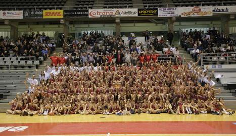 El Club Bàsquet Lleida presenta al Barris Nord els seus quinze equips federats, que aglutinen més de dos-centes jugadores