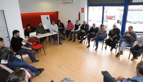 L'assemblea va tenir lloc a les oficines del Comú a Lleida.