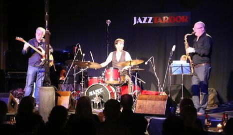 Un moment del concert de Gonzalo del Val Irish Trio.