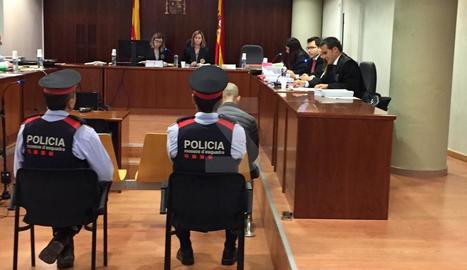 Josep Sopena Guasch, aquest dilluns a l'Audiència de Lleida.