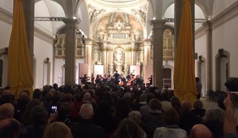 Concert inaugural, diumenge a la Universitat de Cervera.