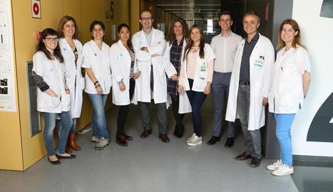 Foto de família del grup d'investigació d'Obesitat, Diabetis i Metabolisme de l'IRBLleida.