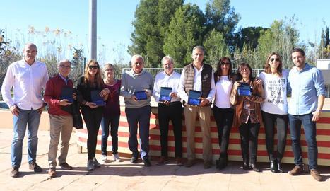 El CT Urgell celebra la seua Diada i homenatja socis històrics