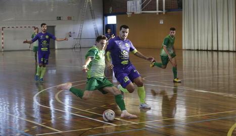 Lo Caragol va sumar tres punts importants contra el Cerdanyola.