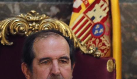 Imatges dels magistrats Manuel Marchena i Andrés Martínez Arrieta.