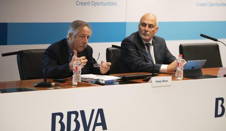 La presentació de l'Anuari Comarcal del BBVA.
