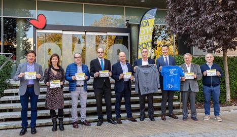 La prova, que arriba a la vintena edició, va ser presentada ahir a l'Ekke, organitzador de l'esdeveniment.