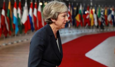 Imatge de la primera ministra britànica, Theresa May.
