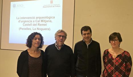 La presentació de les troballes va tenir lloc ahir a Lleida.