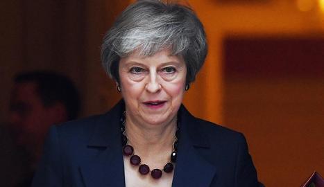 Imatge d'arxiu de la primera ministra britànica, Thresa May.