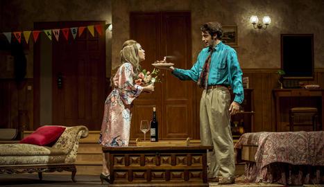 Imatge d'una de les escenes de la comèdia romàntica 'Un cop l'any'.