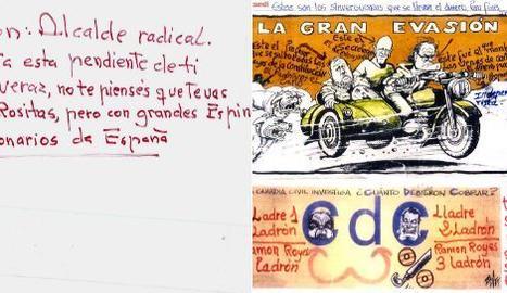 L'alcalde de Cervera denuncia amenaces per la pancarta dels 'presos polítics'