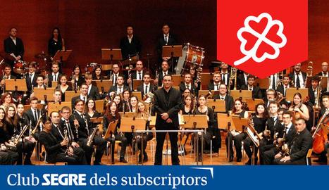 La Banda Simfònica Unió Musical de Lleida.