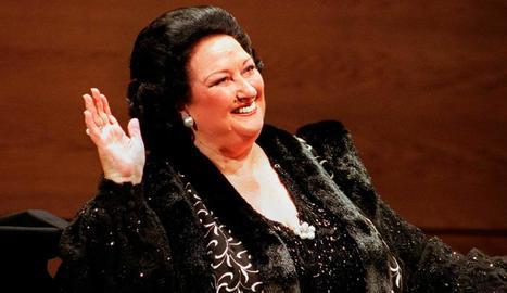 La soprano Montserrat Caballé, que va morir fa poc.