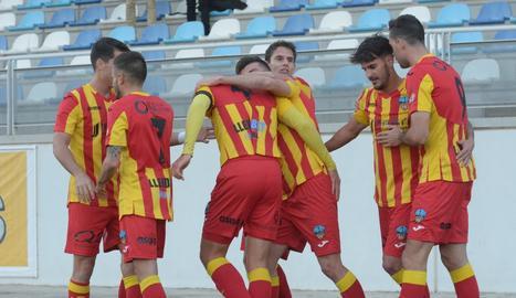 El Lleida, líder provisional després d'empatar 4-4 a Ejea