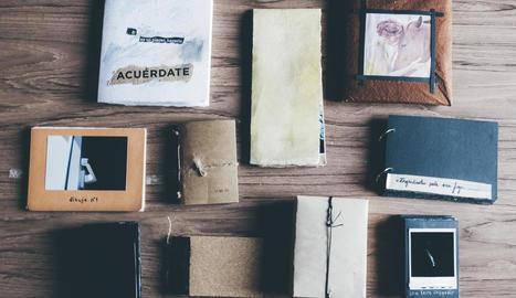proposta. Els participants del taller compartiran l'experiència de construir un diari personal amb les pròpies mans.