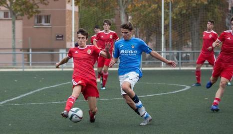 El Juvenil A del Lleida empata sense gols amb el Saragossa