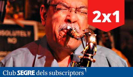 El saxofonista nord-americà Ernie Watts.