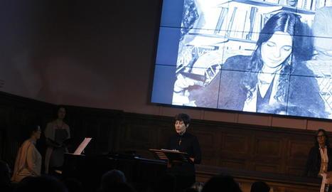 L'escriptora d'Ivars d'Urgell Maria-Mercè Marçal va ser recordada amb un espectacle multidisciplinari a l'IEI.