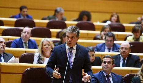 El portaveu del PP al Senat, Ignacio Cosidó.