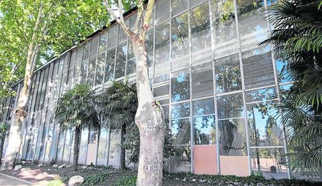 Imatge d'arxiu del Palau de Vidre dels Camps Elisis de Lleida.