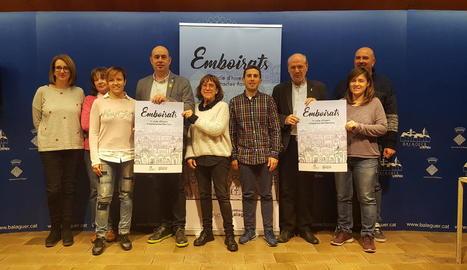Presentació del nou cicle d'espectacles 'Emboirats', que començarà aquest diumenge a Balaguer.