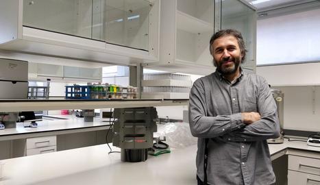 L'investigador Andreu Casali, nova incorporació de l'IRBLleida.