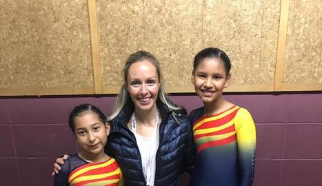 El CP Bordeta hi va participar amb Camila Atavillos i Annie Sandoval.