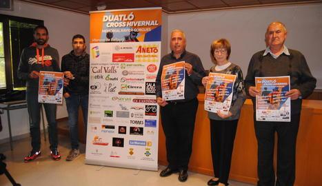 L'organització va presentar ahir el Memorial Xavier Gorgues.