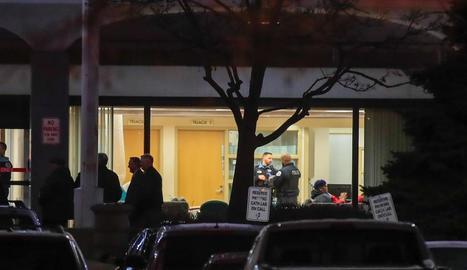 Imatge de l'entrada de l'hospital Mercy de Chicago.