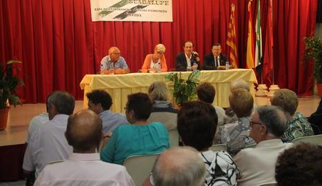Imatge d'arxiu d'un acte al Centre Extremeny de Lleida.