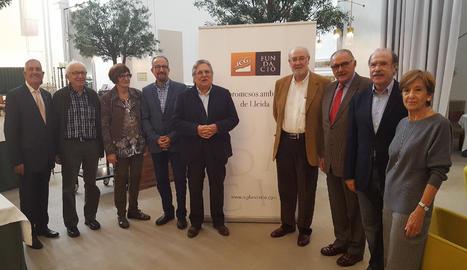 Segona trobada del grup d'opinió i debat 'Compromesos amb el futur de Lleida'