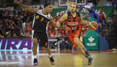El Força Lleida va jugar el seu pitjor primer quart a Granada.