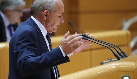 Dionisio García Carnero, del PP, ahir al Senat.