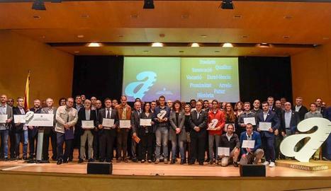 La Generalitat va entregar 53 diplomes, nou dels quals a artesans lleidatans.