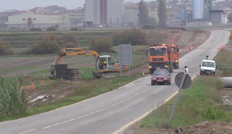 Les obres van començar al setembre i inclouen la renovació de la xarxa hidràulica.