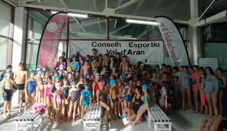 El Comarcal reuneix més de 120 nadadors a Vielha